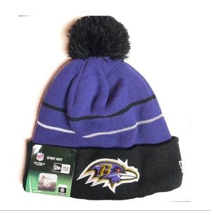 Baltimore Ravens On Field Knit Hat NWT